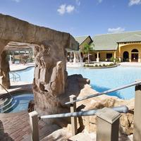 Paradise Palms, poolside