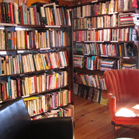 The Biscuit Eater is a charming bookstore/ cafe where the treats are excellent, photo by Lola Augustine Brown