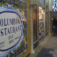 "Beautifully tiled exterior of Columbia Restaurant, photo by <a href=""http://www.flickr.com/photos/jsclark/6156608363/"" target=""_blank""> by j.s.clark</a> on Flickr.com"