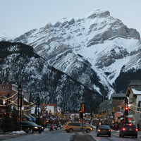 Banff is stunningly beautiful, and artistic too, photo by Lola Augustine Brown