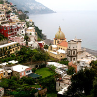 The view out over Positano, photo by Earl Schwartz