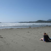Long Beach in Tofino, photo by Lola Augustine Brown
