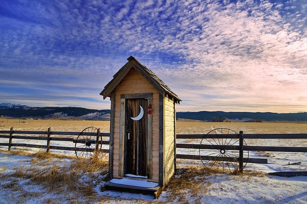 Near McCall Idaho, Winter