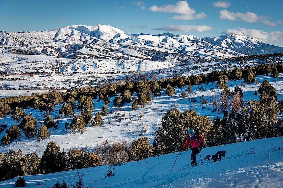 winter Skiing in Idaho