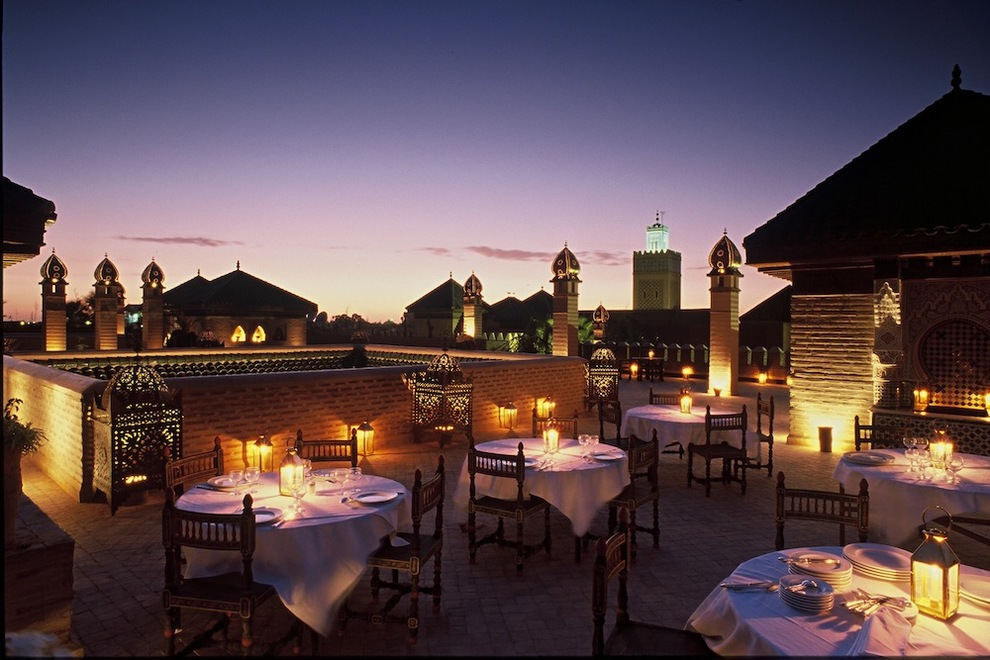 La Sultana Fine Dining And Luxury In Marrakech Travel