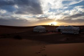 Luxury Berber tent