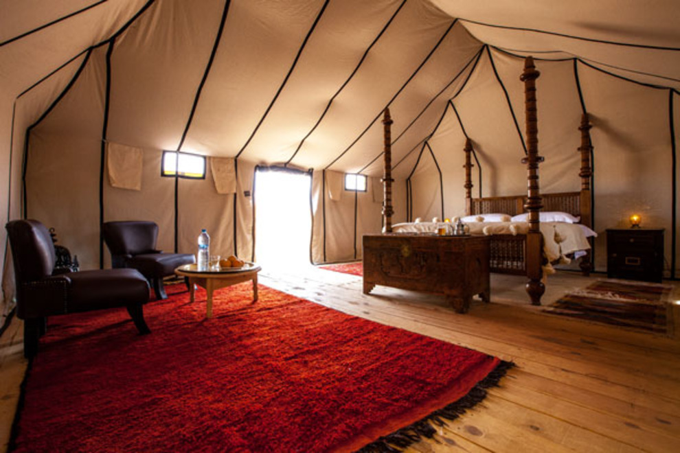 Media Source & Luxury Tents for the Opposite of Roughing It - Four Rivers ...