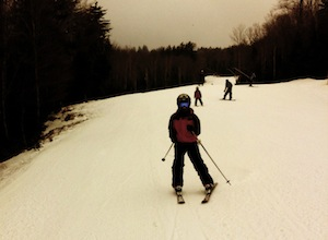 Skiing on Snowshoe Mountain