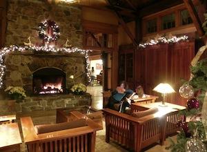 Allegheny Springs Cozy Lobby