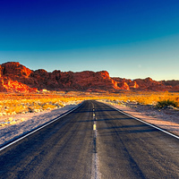 """Beat the heat and take a ride through Valley of Fire. Valley of Fire by <a href=""""https://www.flickr.com/photos/johnchandler/8414710813/"""" target=""""_blank"""">johnchandler</a> on Flickr.com"""