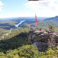 "Chimney Rock, NC by <a href=""https://www.flickr.com/photos/daveynin/15684691709"">daveynin</a> on Flickr.com"