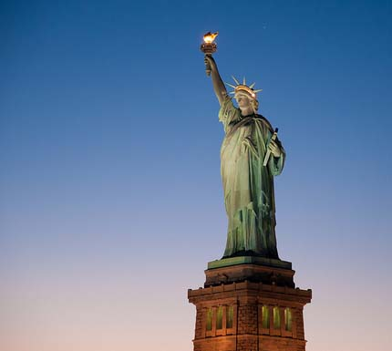 """the statue of liberty new york essay Statue of liberty final writing paper & creative project art 100 the statue of liberty towers over the entrance of the new york harbor the statue presents a woman, draped in a robe, holding a torch in her right hand and tablet in the lefton the tablet is inscribed """"july iv mdcclxxvi,"""" which represents the sonnet """"the new colosus"""" written by."""