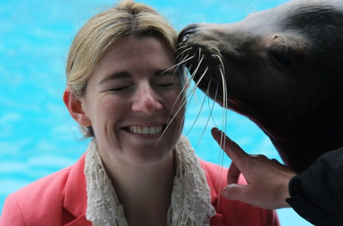 Kissed by a Sea Lion