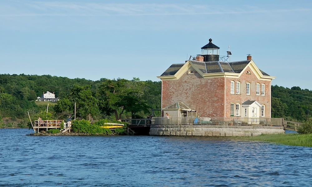 Saugerties – The Back Deck of the Saugerties Lighthouse