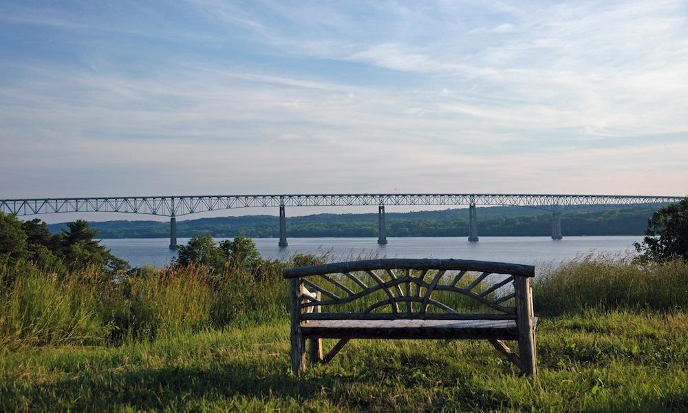 "Red Hook --Scenic Hudson's ""Poets Walk"" Park"